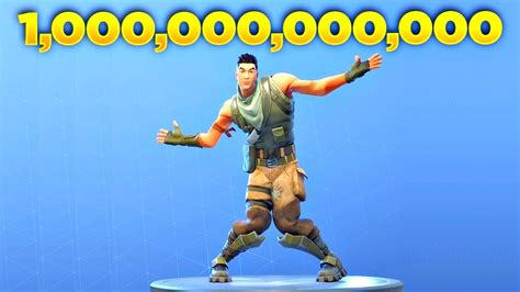 played fortnite default dance   trillion times