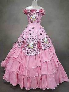 Jj39s blog hello kitty wedding dress for Hello kitty wedding dress