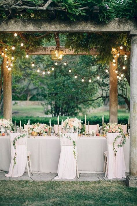 best 30 summer outdoor wedding decorations ideas 2018