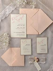 Top 15 popular rustic wedding invitaitons idea samples on for Simple wedding invitations with pictures