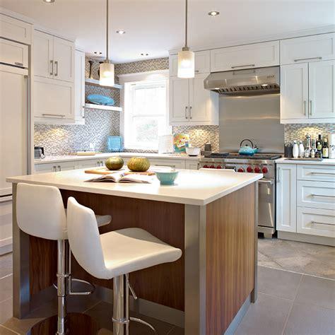 cuisine moderne avec ilot cuisines beauregard cuisine réalisation 283 cuisine