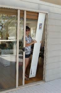 Sliding Glass Door with Dog Door