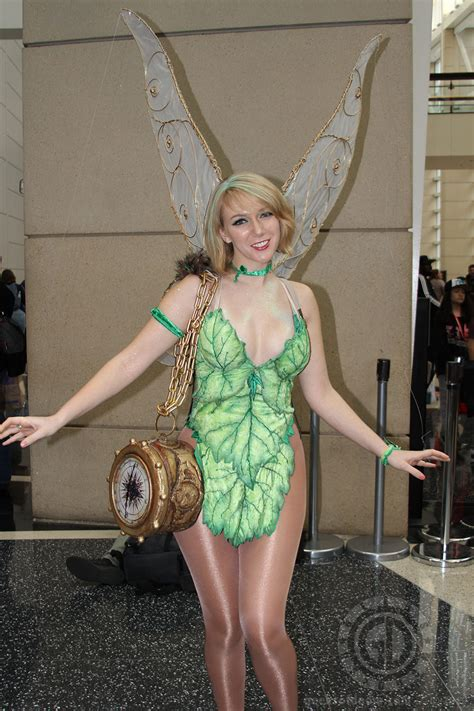 cosplay tinkerbell convention report