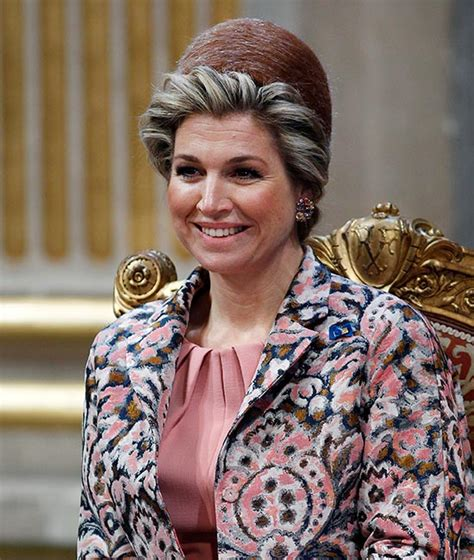 Queen Maxima Ups The Beauty Stakes During Visit Paris