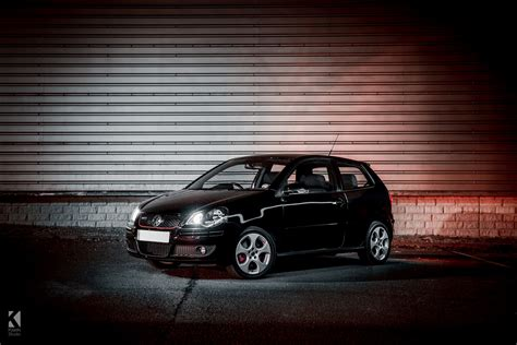 polo 9n gti vw polo gti 9n in black kiseki studio