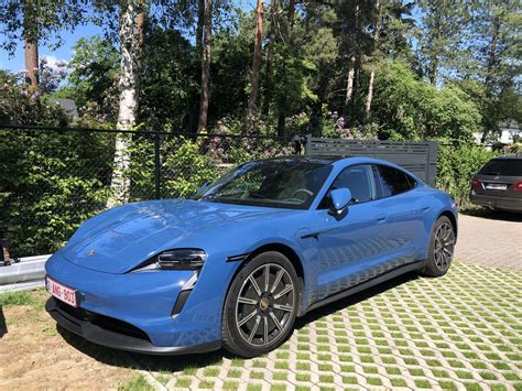 NEPTUNE BLUE Taycan Club   Page 5   Porsche Taycan Forum ...