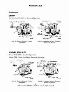 Farmall A And Av Operators Manual New Printed