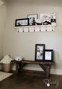 DIY Bench for the Entryway - $15! - Shanty 2 Chic