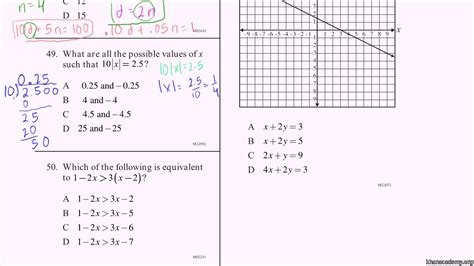 8th grade math practice the best worksheets image