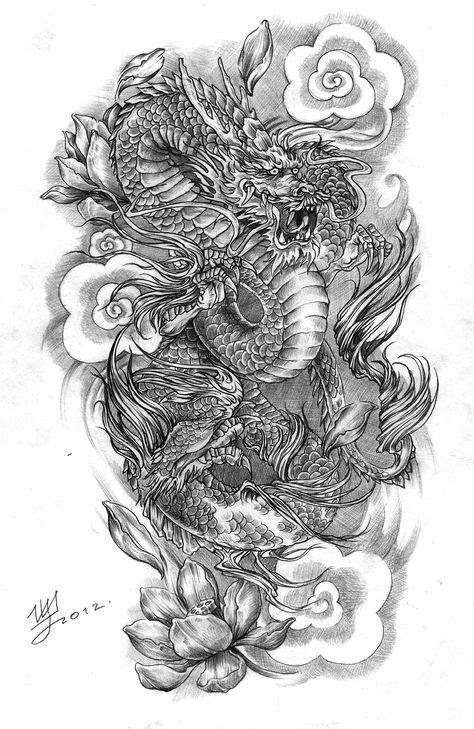 Best Tattoo Dragon Chinese Design Tat 67+ Ideas   Japanese dragon tattoos, Dragon tattoo, Sleeve