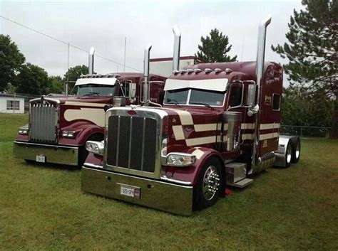 peterbilt and kenworth kenworth peterbilt peterbilt trucks pinterest