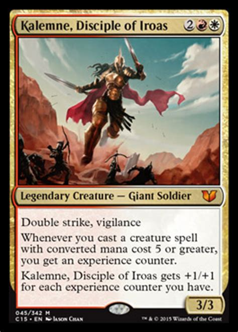 master of cruelties deck 2014 kalemne disciple of iroas commander 2015 visual spoiler