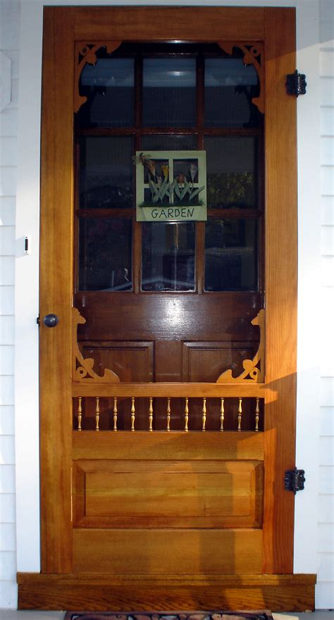 victorian screen storm door westchester model www