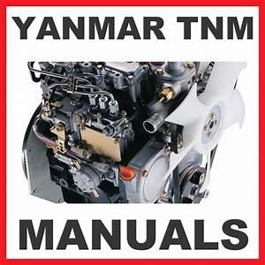 Yanmar Tnm 3tnm68 3tnm72 Engine Service  U0026 Repair Manual