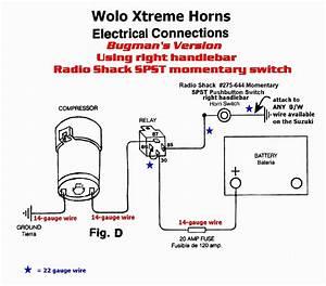 Horn Relay Wiring Diagram