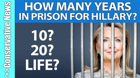 How Many Years Of History Should Be On Your Resume by Poll How Many Years Should Clinton Go To Prison