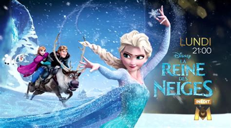 ce soir 224 t 233 l 233 quot la reine des neiges quot sur m6 in 233 dit
