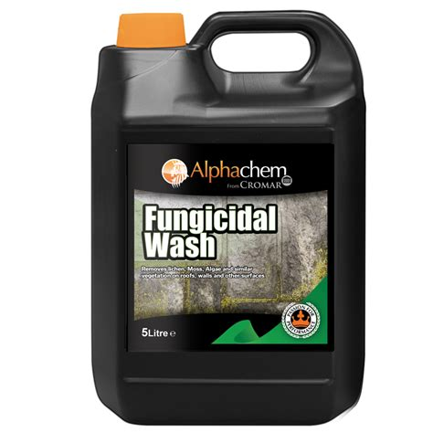 fungicidal wash  moss mould remover cromar