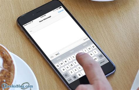 iphone text how to disable predictive text in ios 9 on iphone and