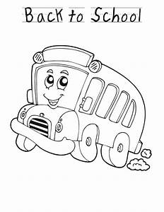 Coloring Page School Bus - AZ Coloring Pages