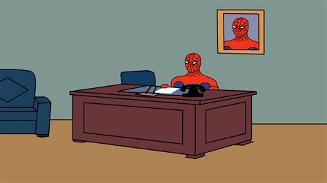 Spiderman Desk Meme - spider man desk hd by dellconagherengineer on deviantart