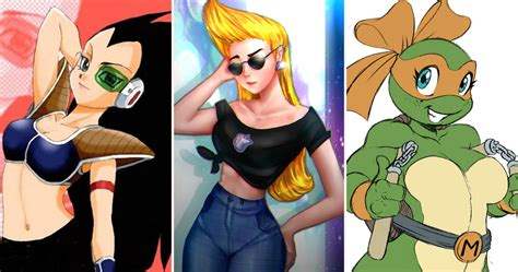 20 Of Your Favorite 90s Cartoon Characters Reimagined As Girls