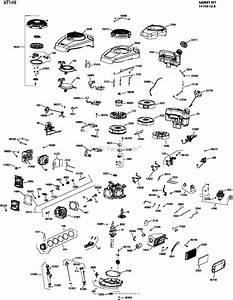 Kohler Xt149 One Page Model Composite Parts Diagram For Engine
