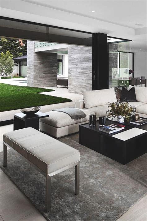 Moderne Häuser Wohnzimmer by Teppich Inneneinrichtung Haus Innenarchitektur Und