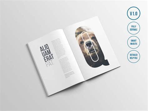 The latest source of free magazine mockup psd templates for your digital projects. Free A4 Magazine Mockup (PSD)