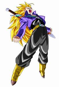 SSJ3 Future Trunks by BoScha196 on DeviantArt