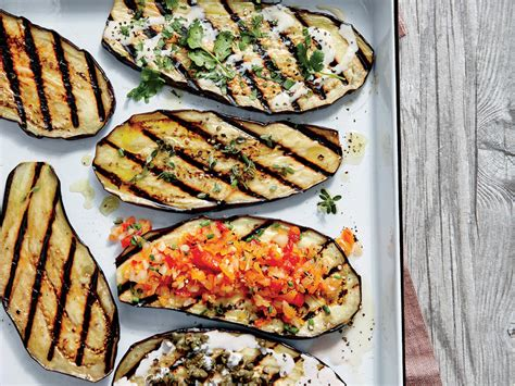 grilled eggplant grilled eggplant planks with creole salsa recipe myrecipes