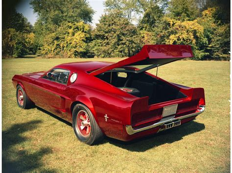 Ford Mustang Mach 1 Concept 1966 Exotic Car Photo 11 Of