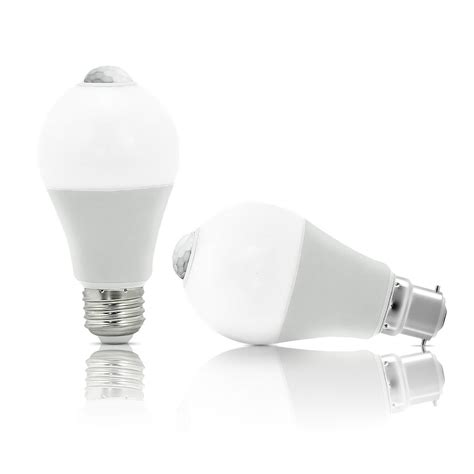 Auraglow Pir Motion Activated Sensor Led Light Bulb