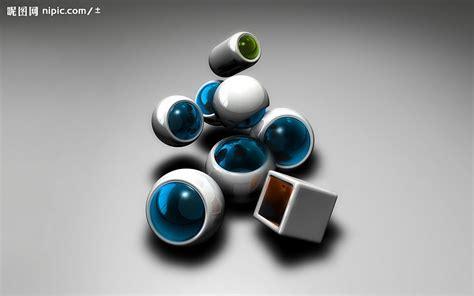 超酷3D桌面壁纸系列设计图__3D作品_3D设计_设计图库_昵图网nipic.com