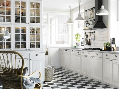 Lidingo Ikea Cabinets by Ikea Lidingo Kitchen Black And White Home