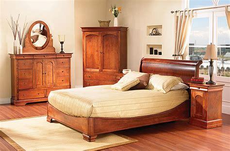 chambre à coucher merisier mobilier chambre à coucher classique