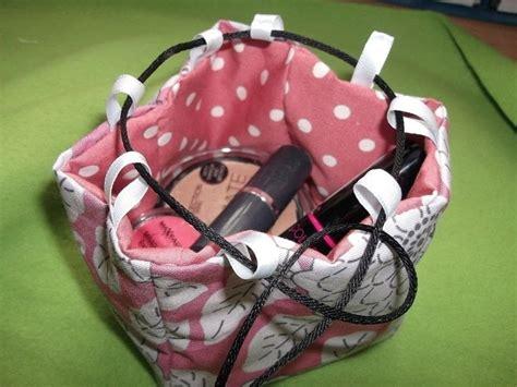mini japanese rice bag  drawstring pouch needlework
