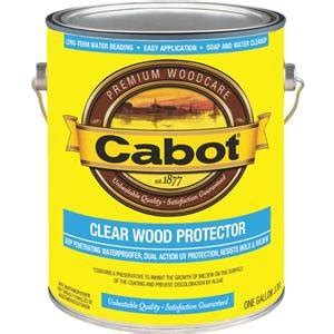 Cabot Clear Stain