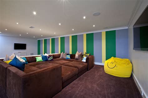Basement Ideas Kids, Kids Basement Playroom Ideas Comfy Chairs For Living Room Seafoam Green Beige Color Palette High Back Hutches Wallpaper Feature Wall Colors Walls In Grey Paint