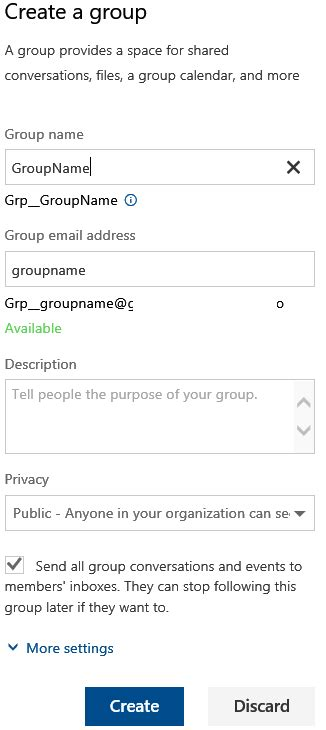 Office 365 Portal Disclaimer by Office 365 Naming Convention For Office 365 Groups Is