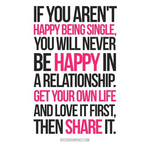 Quotes About Being Happy Single