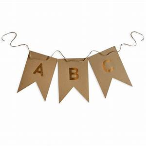 large 46 letter banner garland alphabet pennant by With large cardstock letters