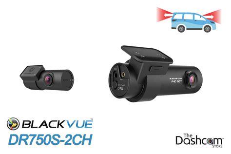 blackvue drs ch dual lens dashcam installed  tesla
