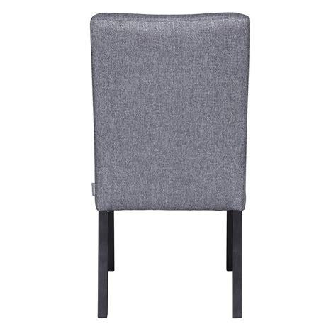 chaise bois gris chaise tissu gris bois noir woood wieke