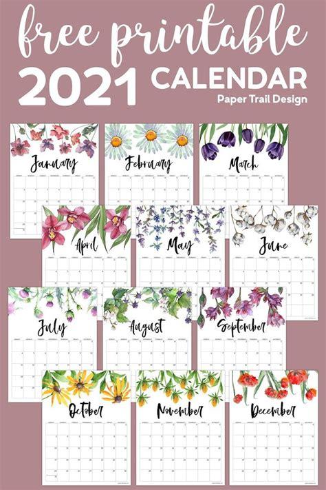 Get Kawaii Printable Calendar 2021  Gif