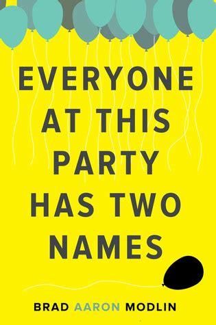 party   names  brad aaron modlin