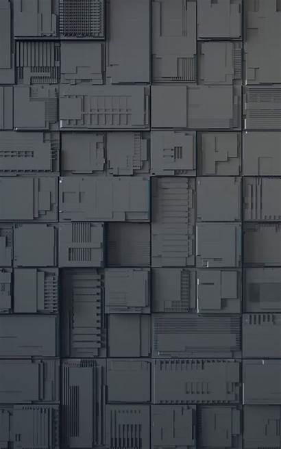 Cubes Geek Abstract Dark Circuit Board