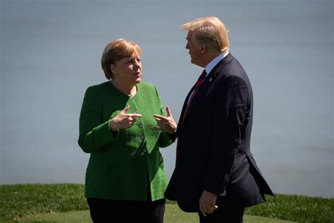 President trump announced steel and aluminum tariffs on canada and the eu. Merkel: G7 summit with Trump was a 'sobering, depressing ...