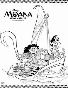 Free Printable Moana Coloring Pages