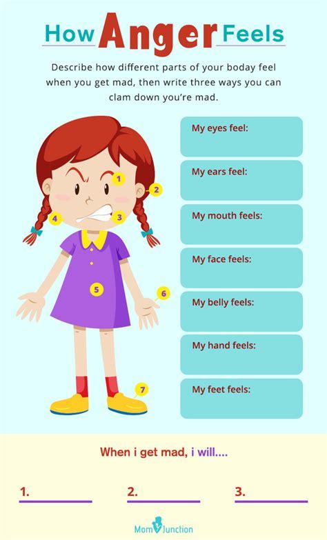 anger management for preschoolers child anger management worksheets worksheets for all 766